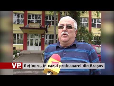 Reținere, în cazul profesoarei din Brașov