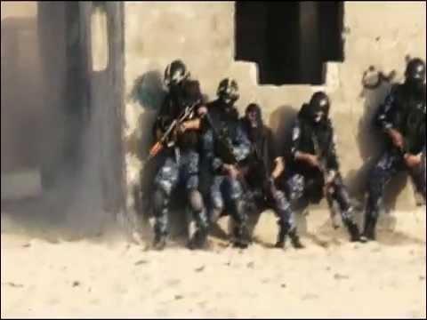 فاصل تخريج دورة الشرطة الفلسطينية ( الوحدة الخاصة )