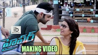 Hyper Telugu Movie Making Video HD