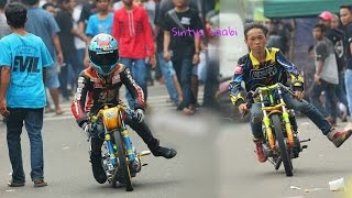 Video EZA CEMONK Setting Liar Satria Fu dan Ninja di Paddock Drag Bike MP3, 3GP, MP4, WEBM, AVI, FLV April 2017