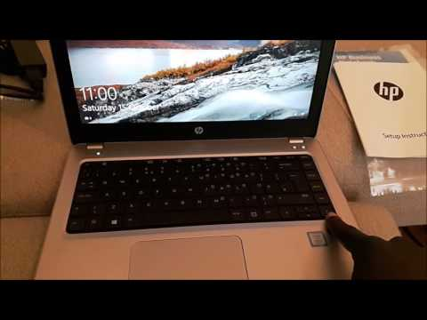 HP Probook 430 G4 (2016) Unboxing + short review