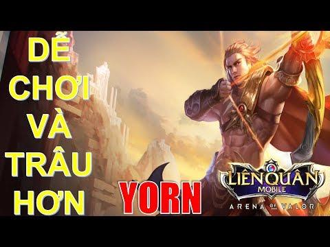 Tên Thần YORN tăng sức mạnh dễ chơi hơn và trâu hơn trong phiên bản mới | Arena of Valor - Thời lượng: 10:50.