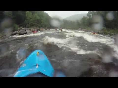 deerfest - Kayaking the Deerfield River Dryway during Deerfest on July 13, 2013. Release level was 900 cfs. Compilation of three runs. Song title