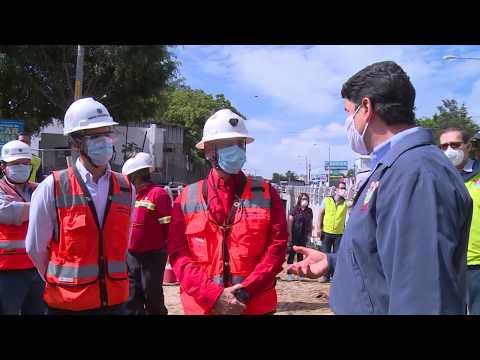 Avanza construcción del paso a desnivel El Zapote
