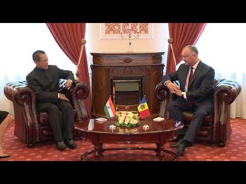 Președintele Republicii Moldova a primit scrisorile de acreditare ale ambasadorului agreat al Republicii India în țara noastră