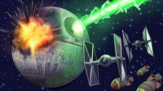 Minecraft | HOW MANY NUCLEAR BOMBS TO DESTROY THE DEATH STAR! (Star Wars)