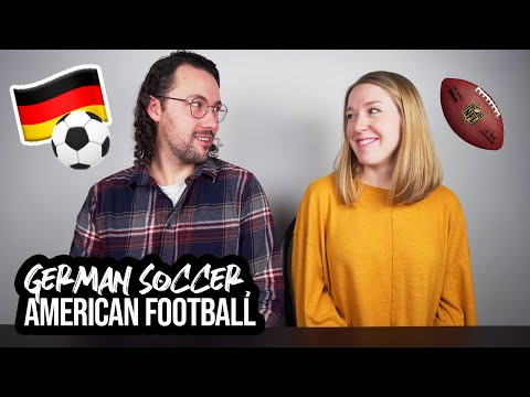 First German Soccer Match - How Does It Compare to American Football??