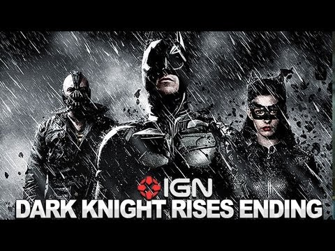 The Dark Knight Rises - Jonathan Nolan Discusses the Film's End - NYCC 2012