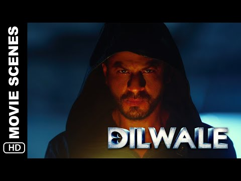 Kaali's Introduction |  Dilwale | Action Scene | Shah Rukh Khan, Kajol