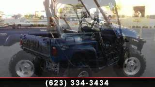 1. 2008 Yamaha Rhino 700 FI Auto 4x4 SE Steel Blue - RideNow P