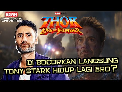 Taika Waititi Ngebocorin Plot Film Thor Love and Thunder, Tony Stark Hidup Lagi Bro ???