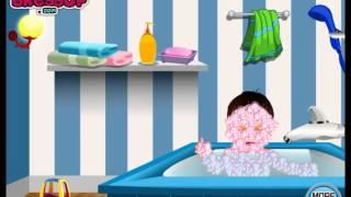 cartoon adventure game for girls review Baby Walker Bathing   Baby Bath   Fun Kids Games