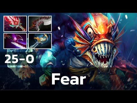 Fear • Slark • 25-0 — Pro MMR Gameplay