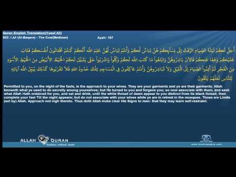 Quran English Yusuf Ali Translation 002 البقرة Al Baqara The CowMedinan Islam4Peace com