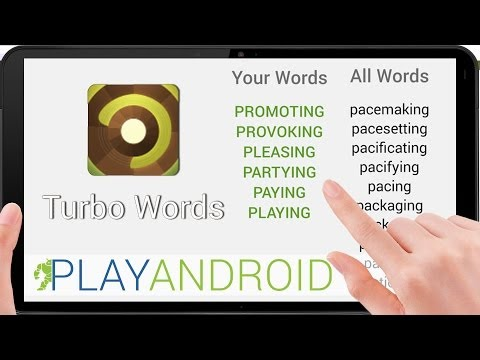 Video of Turbo Words