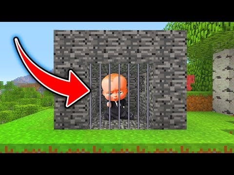 Minecraft : We TRAPPED The BOSS BABY!  (Ps3/Xbox360/PS4/XboxOne/WiiU)