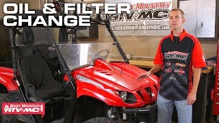 10. Yamaha Rhino Oil Change | How-To