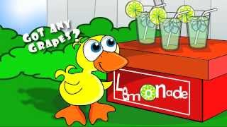 http://www.heyflash.com presents a high quality animated film of The Duck Song by Bryant Oden of Songdrops Music. The video was made in Flash and the high quality video was possible thanks to a powerful MacBookPro.