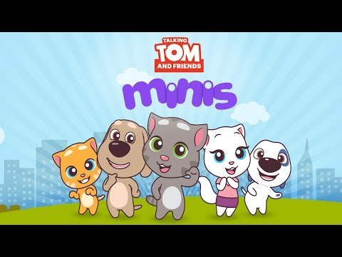 Mini Stream | Talking Tom and Friends Minis