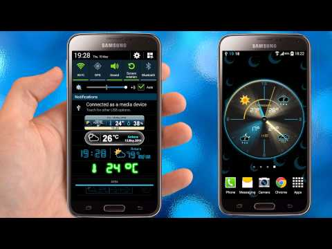 Video of Weather Rise Clock 30+ Widgets