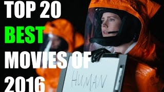 Top 20 Best Movies of 2016