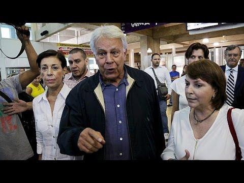 Βενεζουέλα: Τους φυλακισμένους ηγέτες της αντιπολίτευσης στηρίζει ο Φελίπε Γκονζάλεθ