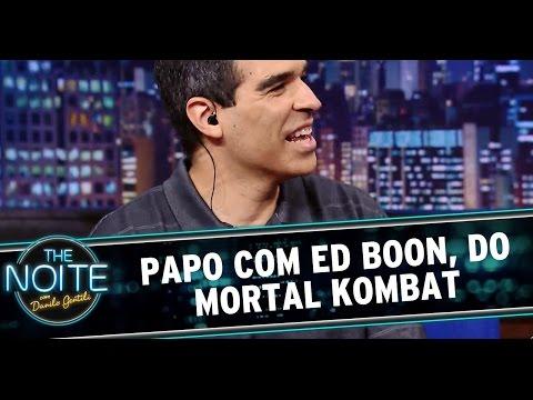 17. - Danilo Gentili recebe o criador de um dos jogos de vídeo games mais famosos de todos os tempos: o Mortal Kombat. Fatality! Assista ao programa na íntegra: Parte 1 - http://www.sbt.com.br/thenoi...