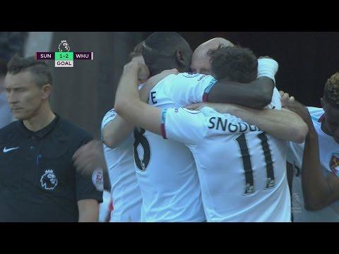Video: Sunderland salvage draw against West Ham