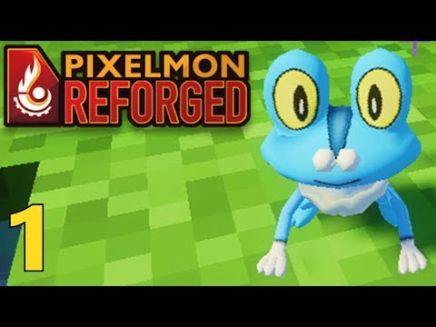 [1] Pixelmon Returns!!! Go Froakie! (Pixelmon Reforged Gameplay)