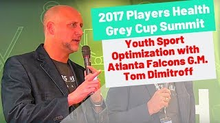 2017 Players Health Grey Cup Summit Interview with Atlanta Falcons GM Thomas Dimitroff