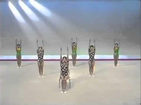 ラジオ体操 第一 第二 首の体操