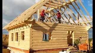 Video World Amazing Intelligent Wooden House Build Process - Extreme Fastest Log House Build Skills MP3, 3GP, MP4, WEBM, AVI, FLV Juli 2019