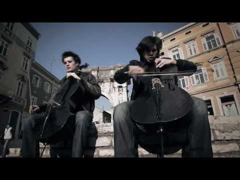 2CELLOS – Welcome To The Jungle [OFFICIAL VIDEO]