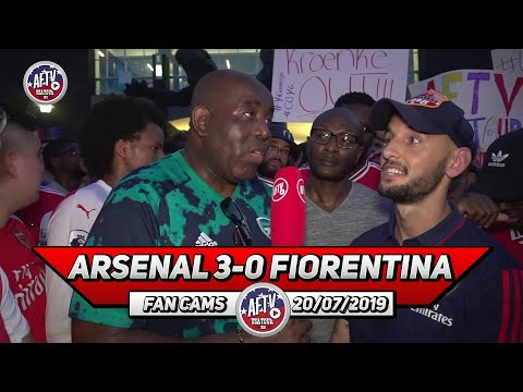 Arsenal 3-0 Fiorentina | I Think The Petition Got Stan Kroenke's Attention!