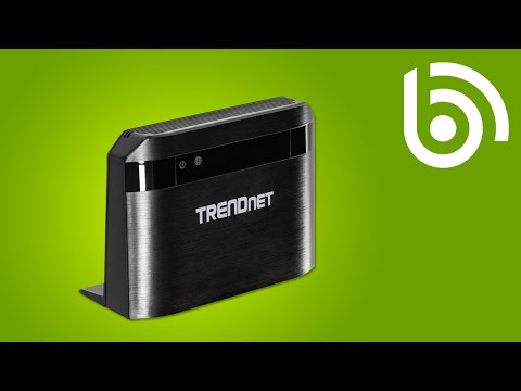 TRENDnet TEW-810DR WiFi AC Router