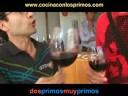 CATA DE VINOS (1/2) - (cocina con los primos)