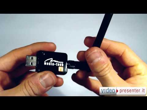 Adattatore Wireless MEDIATECH - Mediatech Wlan USB Adapter | VIDEOPRESENTER.it