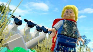 Lego Marvels Avengers Part 5 The Avengers Movie Walkthough Avengers Assemble