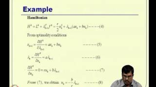 Mod-06 Lec-14 Discrete-time Optimal Control