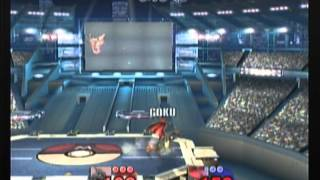 Goku (Charizard) vs Handsome Jack (Lucario) : Very intense matches