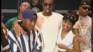 Lil Kim, Puff Daddy & Junior Mafia in 1995 (Rare)