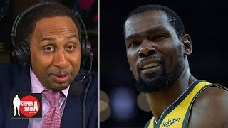 KD could get free pedicures and massages every day if he joined the Knicks! | Stephen A. Smith Show