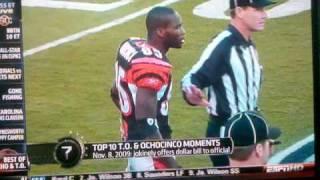 Top 10 T.O. & Ochocinco Moments