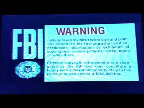 Opening To Executive Decision 1996 VHS