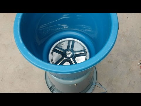 How To Make A WASHING MACHINE Using Buckets 12V Portable