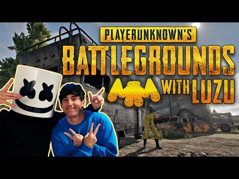 Playing PUBG With Luzu!! | Gaming with Marshmello (видео)
