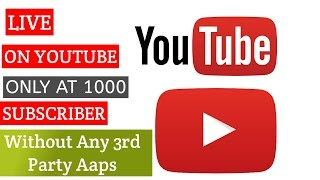 YouTube New Policy Updates  Live On Youtube Only At #1000 SubcriberNamshkar dosto aj me phr ek video laya hu aapke liye aj hm bat krenge Ab aap YouTube Pe 1000 subscriber me live ho sakate hai...Subscribe aur channel for more videosNew video check this..Agr aapko mera ye video pasnd aaya to like Share subscribe krna na bhule.....Follow me on Facebook-https://goo.gl/gT1Ew6Follow me on Twitter-https://goo.gl/FdtGjxFollow me on Instagram-https://goo.gl/vjq15pLIKE ◆ SHARE ◆ SUBSCRIBE
