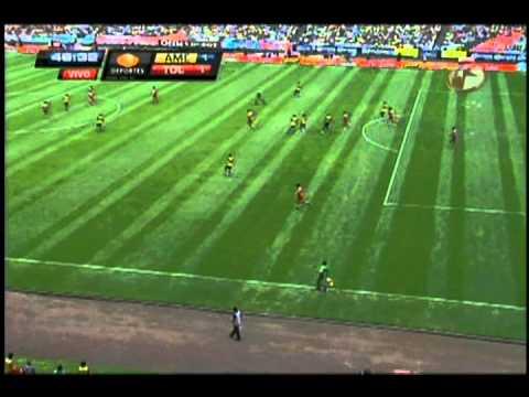 Gol de Osvaldo Gonzáles al América.