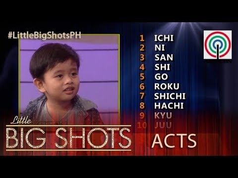 Little Big Shots Philippines: Klyde   4-year-old Geography Genius