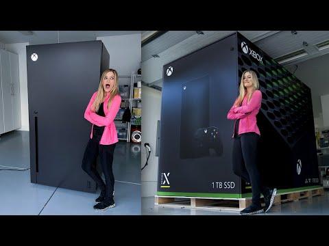 Xbox Series X Fridge Unboxing